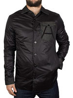 Outdoor Clothing  - G-Star Black A Crotch Varsity Overshirt Jacket