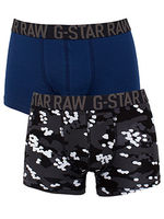 Boxershorts  - G-Star Black Double Pack Mignon Solid Sport Trunks
