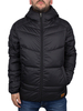 Jack & Jones Black Bomb Puffa Jacket