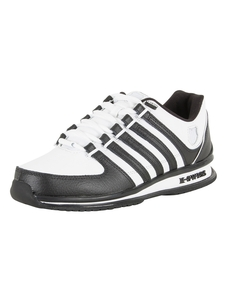 K-Swiss White/White/Black Rinzler SP Trainers
