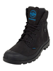 Palladium Black Pampa Cuff WP Lux Boots