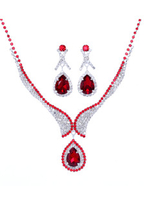 Colour|Bridal Wear & Accessories|Jewellery|Necklaces & Chains  - Crystal Diamond Bride