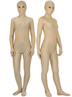 Costumes|Costumes  - Halloween Flesh Color Zentai Suit With Opened Eyes Unisex Lycra Spandex Bodysuit Morphsuits