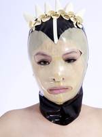 Costumes|Masks|Costumes  - Halloween Unique Color Blocking Catsuits & Zentai Hood