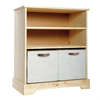 2 Drawer Bookcase,  with Fabric Drawers SU203