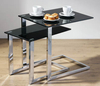 2 Piece Nest of Tables - Black 87568/2401391