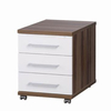 3 Drawer High Gloss Mobile Pedestal,  SO-C5HG