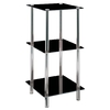 3 tier Glass Display Stand Unit