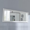 Adrina Rectangular Wall Mirror In Anderson White Pine