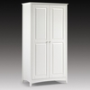 Amani Wardrobe In White With 2 Doors