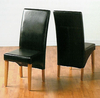 G1 bycast leather dining chair qu