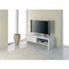 Geno Plasma LCD TV Unit In High Gloss White