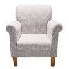 Glamour Ivory Feature Chairs,  2402009