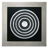 Hand Crafted Metal Rings Wall Art,  84-2154