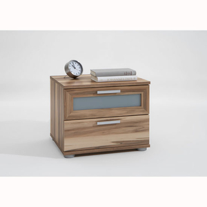 Cabinets  - Jack 2 Drawer Bedside Table in Baltimore Walnut