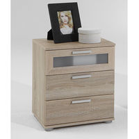 Furnishings & Fixtures  - Jack 2 Oaktree Bedside Cabinet With 3 Drawer