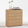 Johanna3 Beech Chest of 5 Drawers