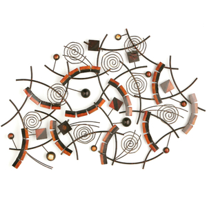 Paintings & Drawings  - Kaleidoscope Metal Wall Art 2800427