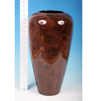 Vases  - Large Brown Vase - 84-0137