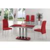 Mani Glass Extending Dining Table + 6 G615 Dining Chairs