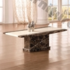 Modena Rectangle Cream Marble Coffee Table