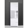 Nevada 2 Door Tall Entertainment Cabinet In Gloss White