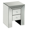 New Line Mirrored Bedside Cabinet,  2402013