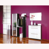 Sandra Hallway Furniture Set In Wenge And White High Gloss Front