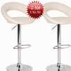 Special Offer!! 2 Leoni Cream Bar Stools For