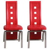Special Offer,  2 Manhattan Design Red Dining Chairs for £110