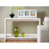 Toscana Console Table In White High Gloss
