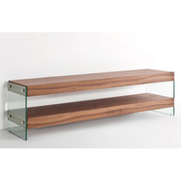 TV & Video Accessories  - Ultimo Contemporary Tv Stand in Walnut