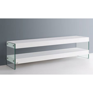 TV & Video Accessories  - Ultimo Contemporary Tv Stand in White