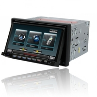 Car Accessories|GPS Systems|DVD & Video  - 7 2Din Touch Screen Bluetooth Car DVD Player With GPS DVB-T PIP 3D G-7006S