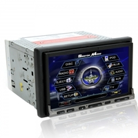 Car Accessories|GPS Systems|DVD & Video  - 7 2Din Touch Screen Bluetooth Car DVD Player With GPS DVB-T RDS P-7001
