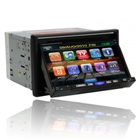 Car Accessories|GPS Systems|DVD & Video  - 7 2Din Touch Screen Bluetooth Car DVD Player With GPS DVB-T RDS P-7007D