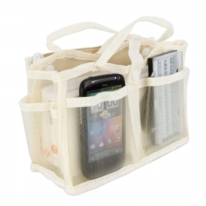 Carry Bags & Cases|Cases & Bags  - Multi Function Card Organizer Bag Handbag Beige