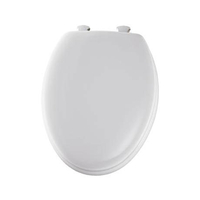 Bathroom Fittings & Products  - Bemis - Model 5000EC Toilet Seat with Smartlift Take-Off System - White - 5000EC000