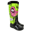 Shoes Iron Fist Zombie Stomper Design Wellies (Black)