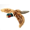 Cookware Plush Pheasant Dog Toy
