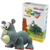 Toys & Games|Puzzles JUMPING CLAY SAVANNA RHINOCEROUS