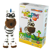 Toys & Games|Puzzles JUMPING CLAY SAVANNA ZEBRA