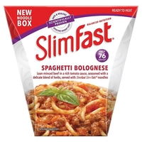 Medicine & Pharmacology  - SlimFast Noodle Box Spaghetti Bolognese (250g)
