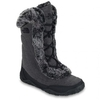 Shoes The North Face Shoes | North Face Womens Nuptse Fur IV Demi Boot - Dark Shadow Grey Herringbone TNF Black