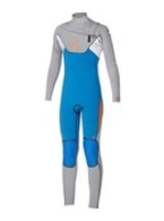 Surfing|Wet Suits|Wetsuits  - Boys Cypher 4/3mm Fullsuit Chest Zip - Quiksilver