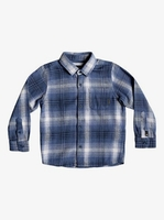 Long Sleeve  - Fatherfly - Long Sleeve Shirt for Boys 2-7 - Blue - Quiksilver