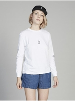 Clothing & Accessories  - Quiksilver Womens - Long Sleeve T-Shirt for Women - White - Quiksilver