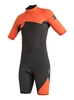 Clothing & Accessories Syncro 2/2mm - Back Zip Springsuit for Boys - Orange - Quiksilver