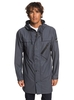 Clothing & Accessories Waterman Techtonic - Water-Resistant Hooded Raincoat for Men - Blue - Quiksilver