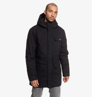 Clothing & Accessories  - Canongate - Water-Resistant Hooded Workwear Parka for Men - Black - DC Shoes